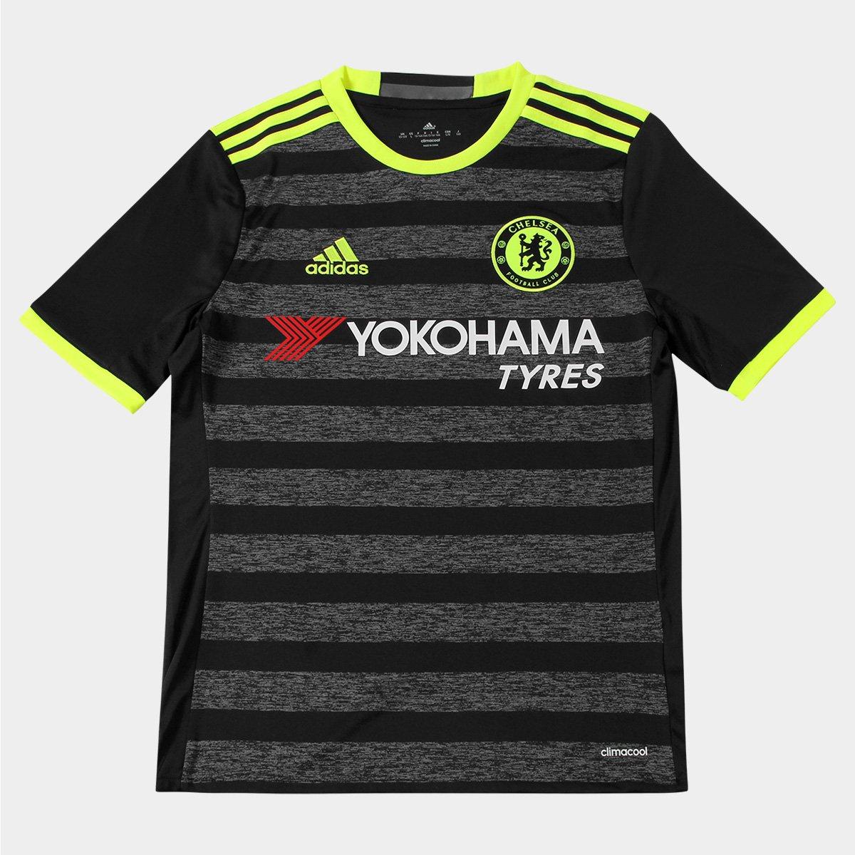 Camisa Chelsea Infantil Away 16 17 s nº Torcedor Adidas - Compre Agora  677982cc91482
