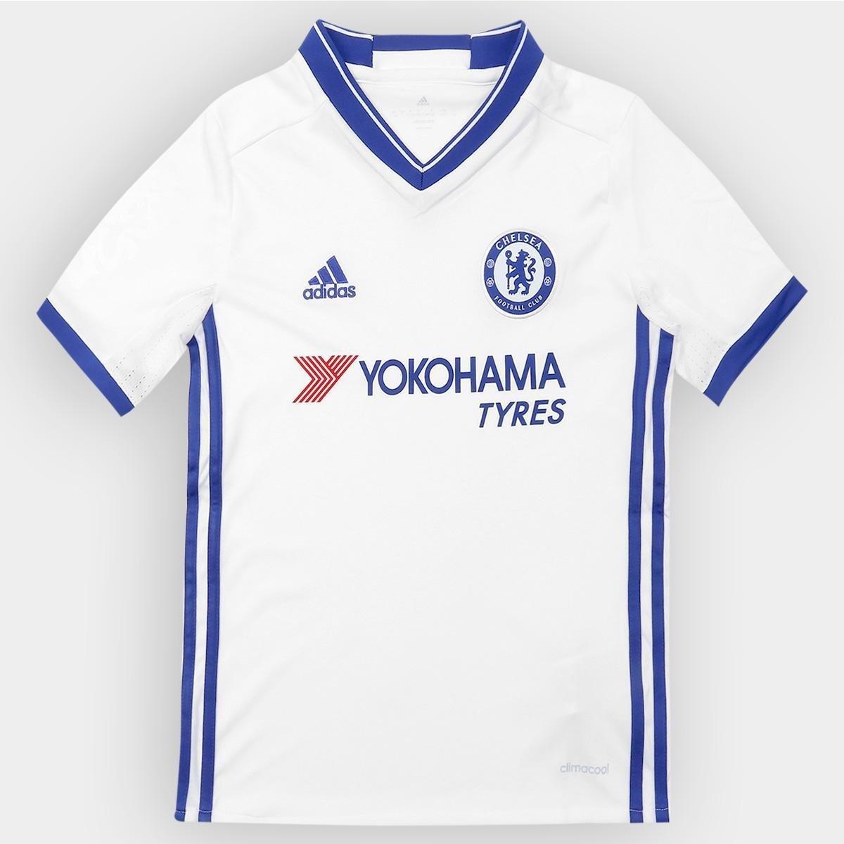 1e04b9a62f377 Camisa Chelsea Infantil Third 16 17 s nº - Torcedor Adidas - Compre Agora