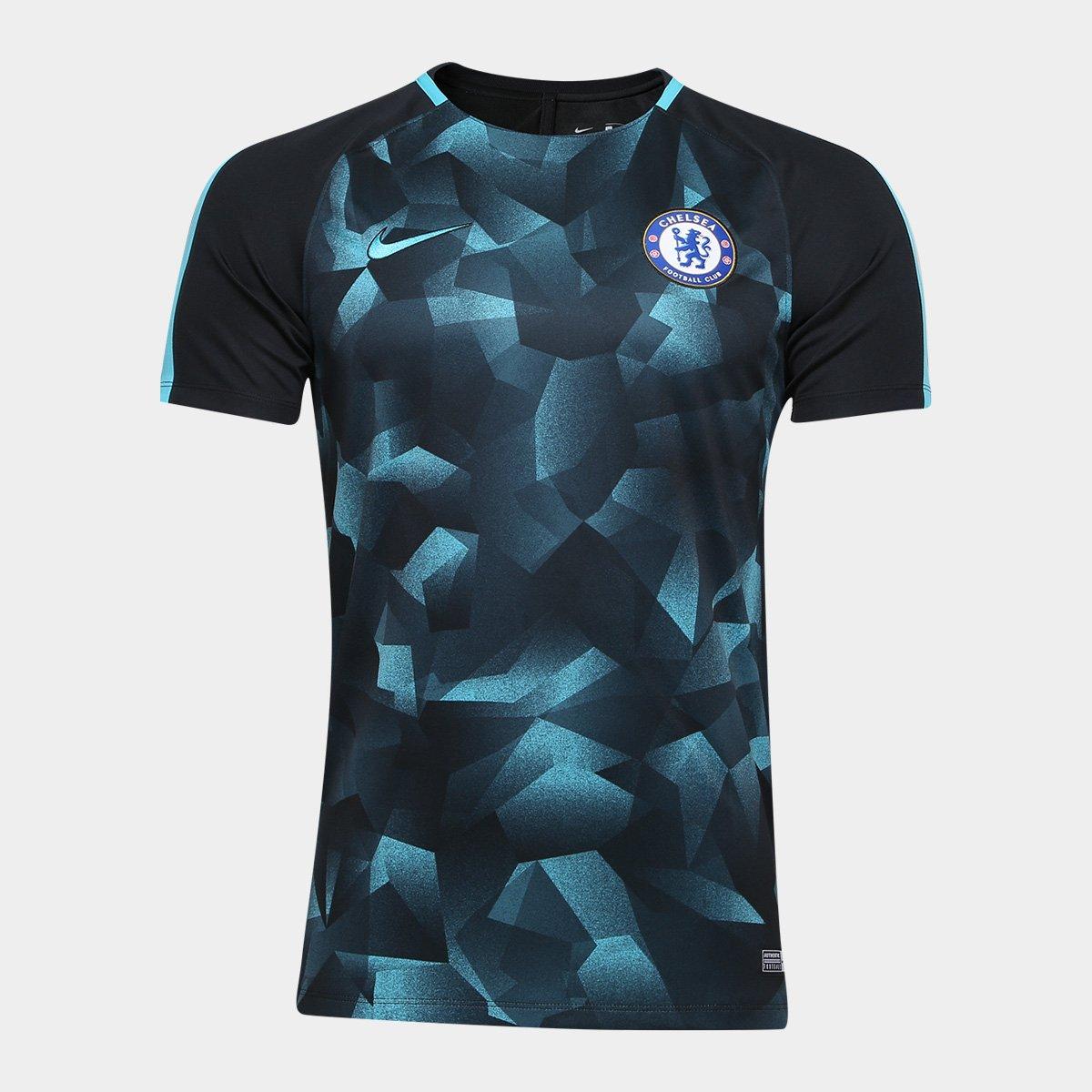 739b64f7d19f6 Camisa Chelsea Squad 17 18 s nº - Nike Masculina - Compre Agora ...