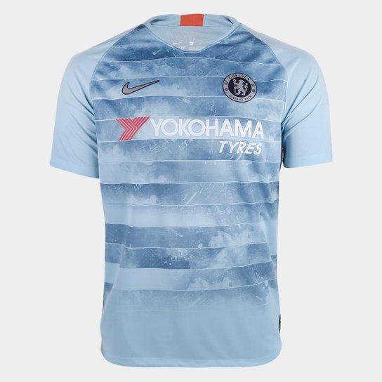 Camisa Chelsea Third 2018 s/n° - Torcedor Nike Masculina - Azul