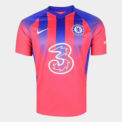 Camisa Chelsea Third 20/21 s/n° Torcedor Nike Masculina