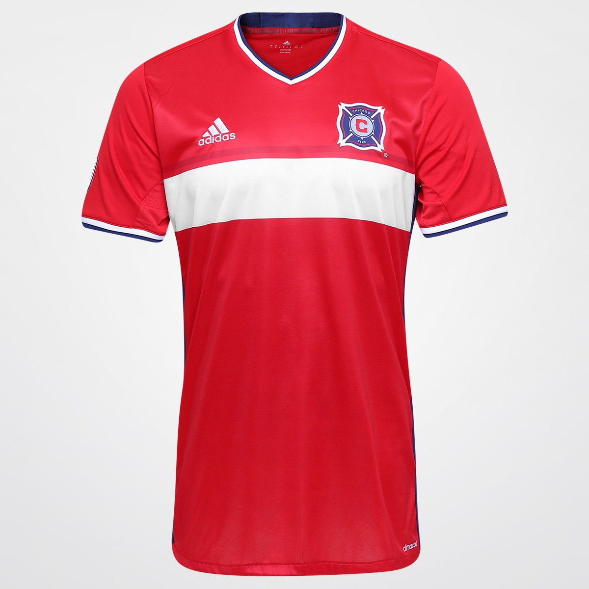 3102bdc0a4 Camisa Chicago Fire MLS Home 2016 s nº Adidas Masculina - Compre Agora