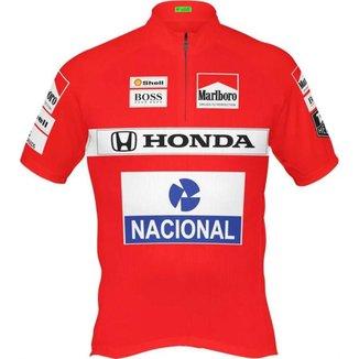 Camisa Ciclismo Ayrton Senna McLaren