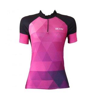 Camisa Ciclismo  Be Fast Geometric Feminina