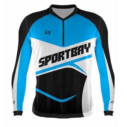 Camisa Ciclismo Bike Sportbay Oficial Manga Longa
