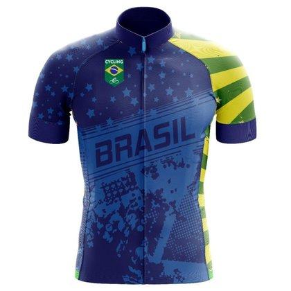 Camisa Ciclismo Brazilian Star