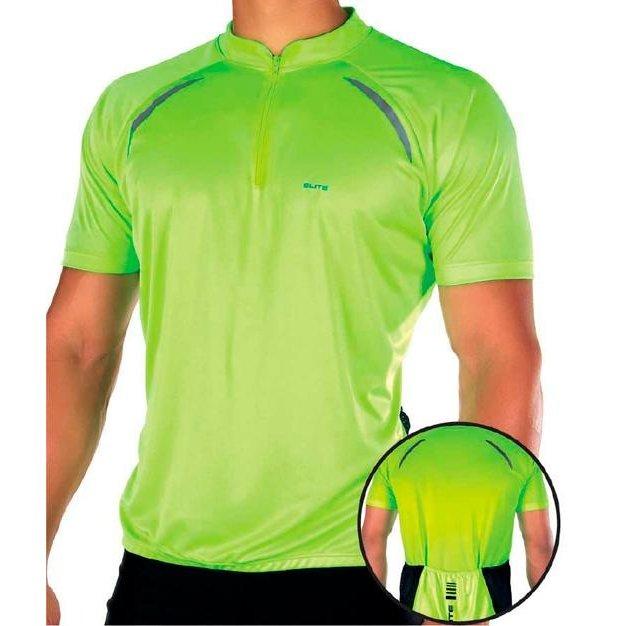 Camisa Ciclismo Elite Especial Masculina - Verde - Compre Agora ... c2c41668e36