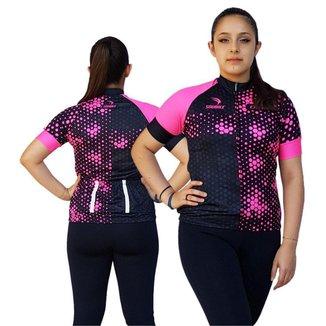 Camisa Ciclismo Feminina SD21 FL04 - Fluor - P