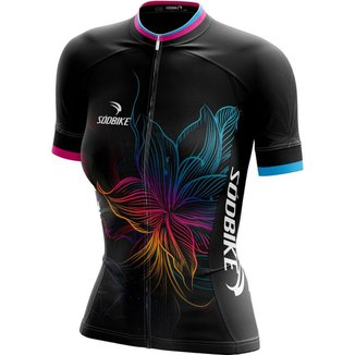 Camisa Ciclismo Flower