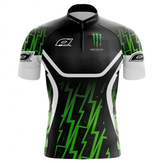 Camisa Ciclismo Monster Energy