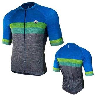 Camisa Ciclismo Mynd Basic Bol Ziper Inteiro Masculina