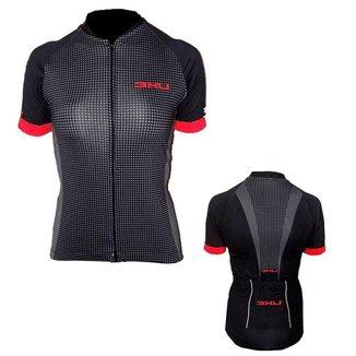 Camisa Ciclismo Refactor Targa Ziper Inteiro Feminina
