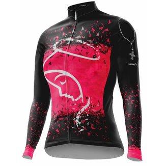 Camisa Ciclismo Sódbike NSA Pink Flanelada - PP