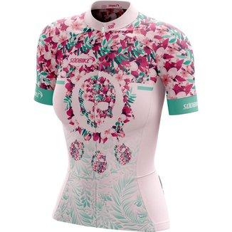 Camisa Ciclismo Sódbike   Ziper Full   Feminina