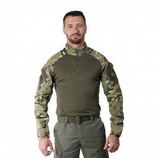 Camisa Combat Shirt Bélica Streel Multicam Masculina