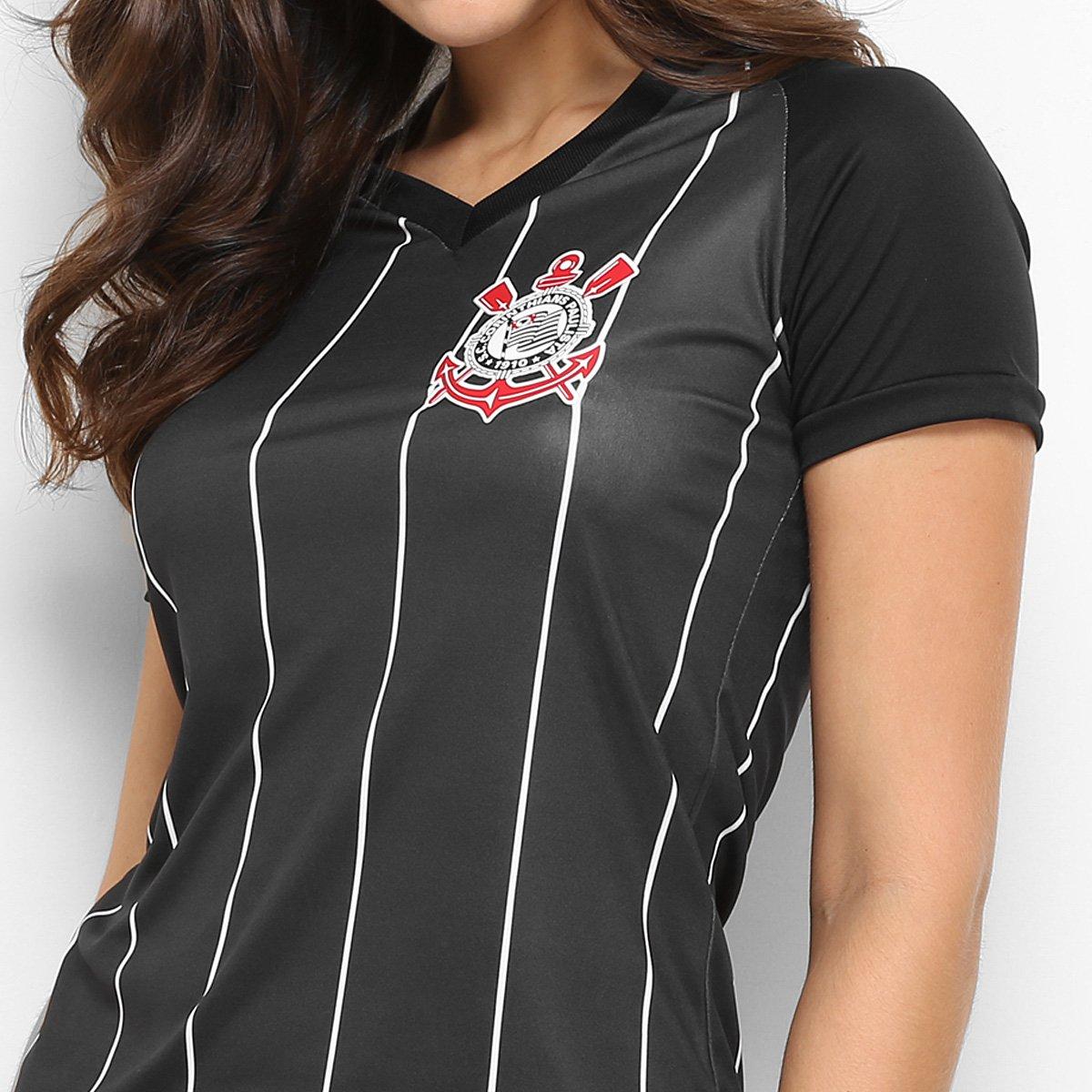 27da3921b4 Camisa Corinthians Fenomenal Edição Especial Feminina - Preto ...