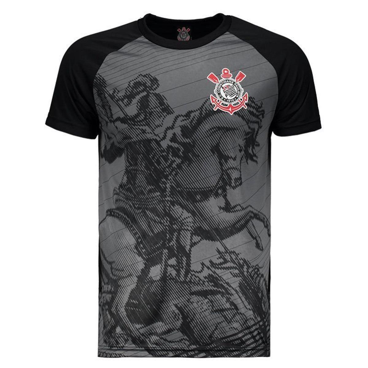 07a9c2a8cc9df Camisa Corinthians Guerreiro 2.0 Masculina - Preto - Compre Agora ...