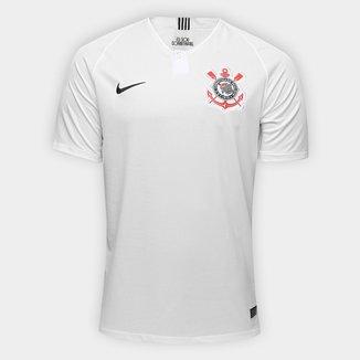 Camisa Corinthians I 18/19 s/n° Torcedor Nike Masculina
