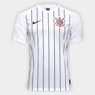 Camisa Corinthians I 19/20 s/nº Torcedor Nike Masculina