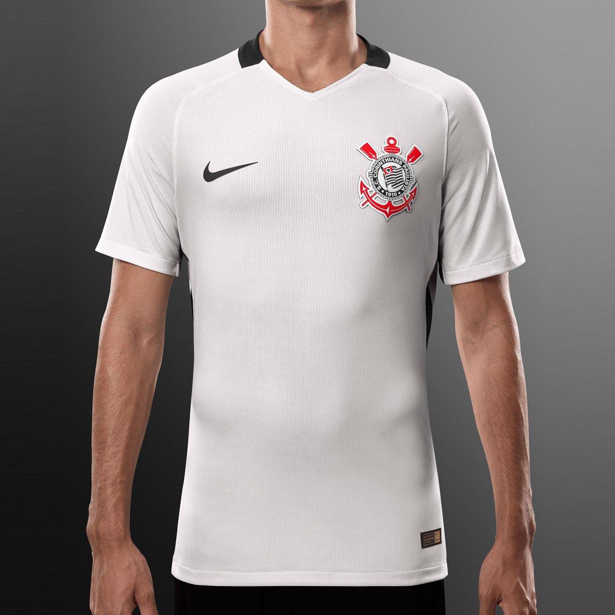 d60b91fafc Camisa Corinthians I 2016 s nº - Jogador Nike Masculina - Compre Agora