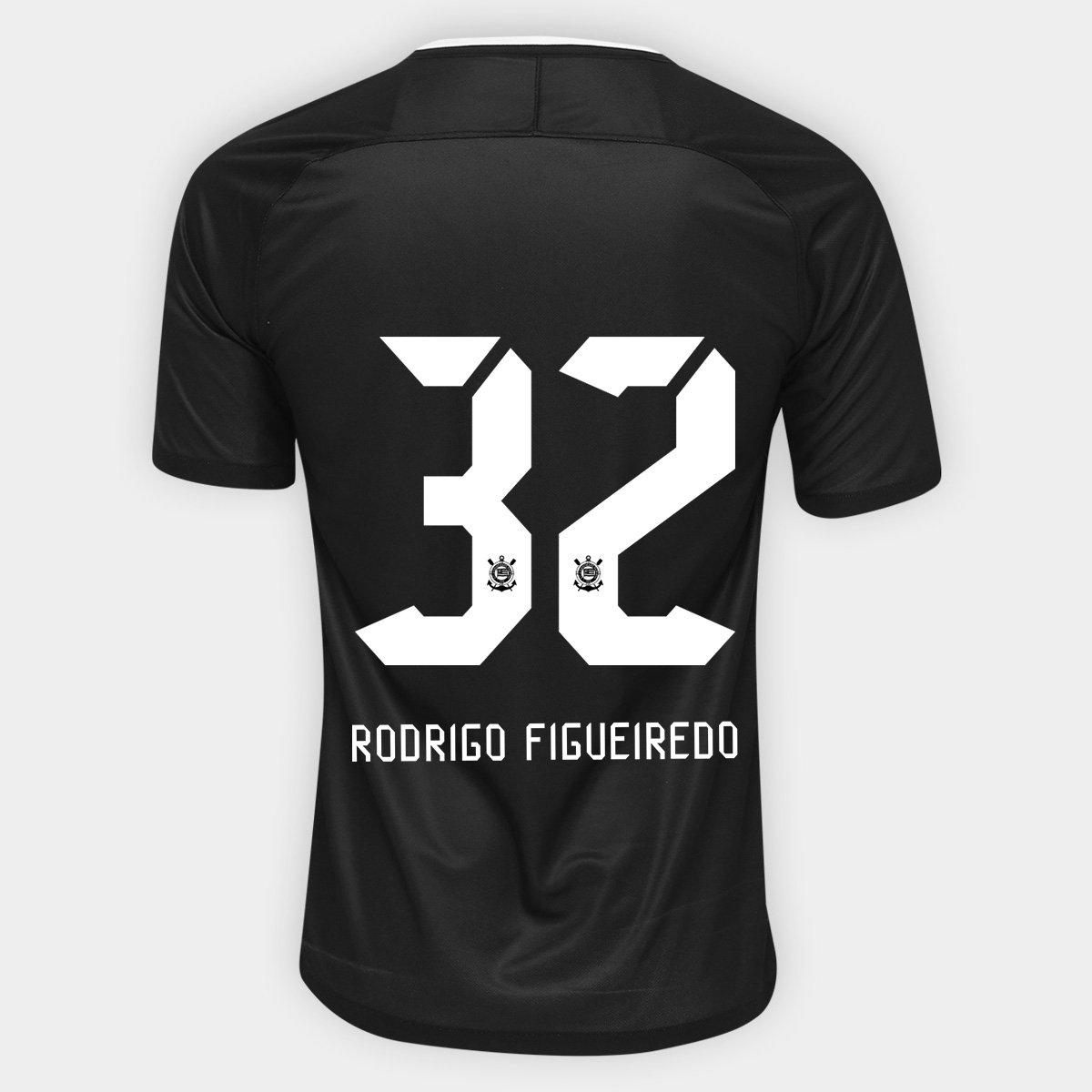 Camisa Corinthians II 17 18 nº 32 Rodrigo Figueiredo - Torcedor Nike  Masculina - Compre Agora  efd4f8574c4ea