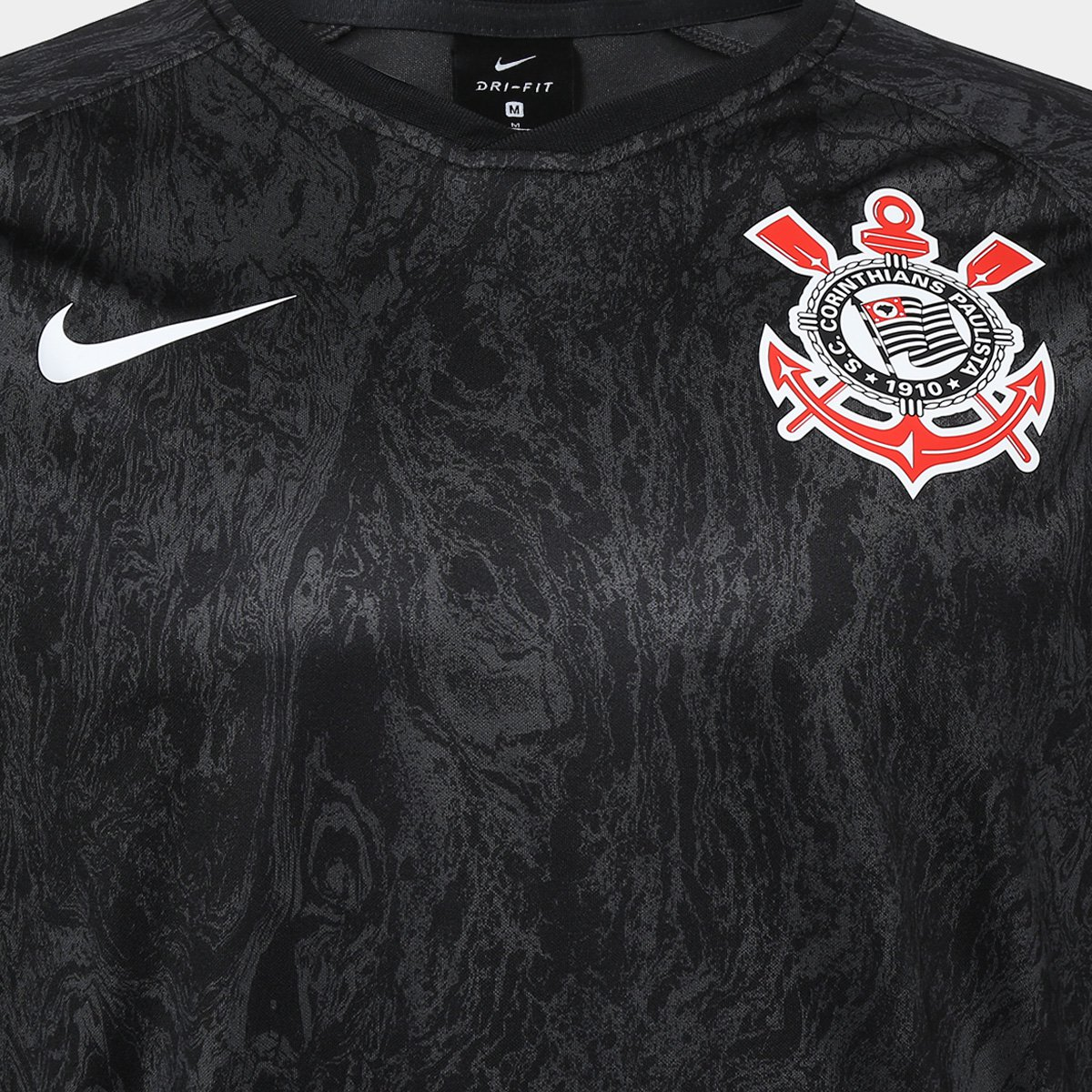 ac34794e97 ... Camisa Corinthians II 2018 s n° - Torcedor Estádio Nike Masculina ...