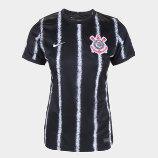 Camisa Corinthians II 21/22 s/n° Torcedor Nike Feminina
