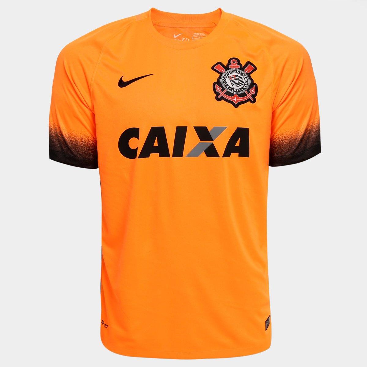 Camisa Corinthians III 15 16 s nº - Torcedor Nike Masculina . d548ed9db456a