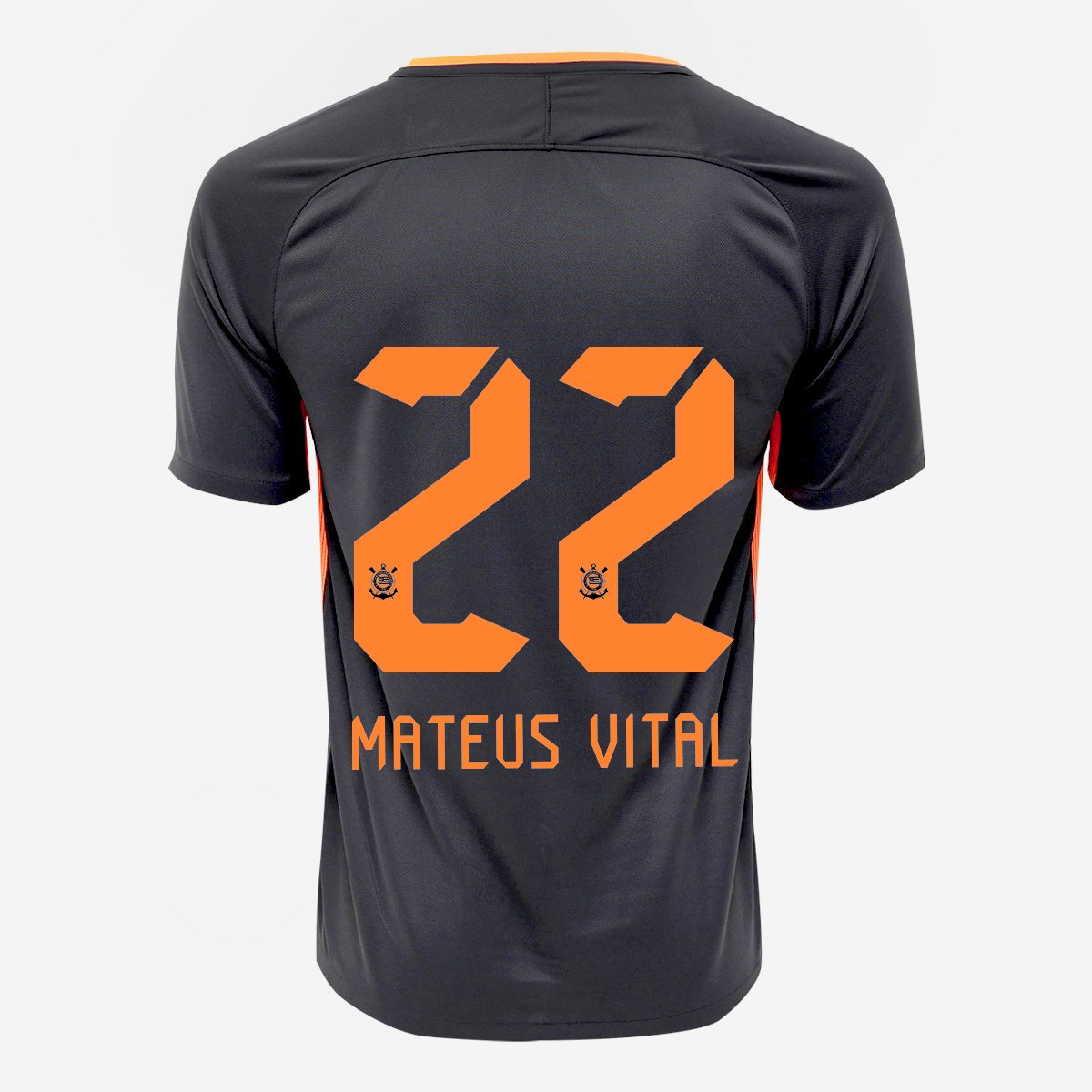 Camisa Corinthians III 17 18 nº 22 Mateus Vital - Torcedor Nike Masculina -  Compre Agora  bec58c7b0d07b