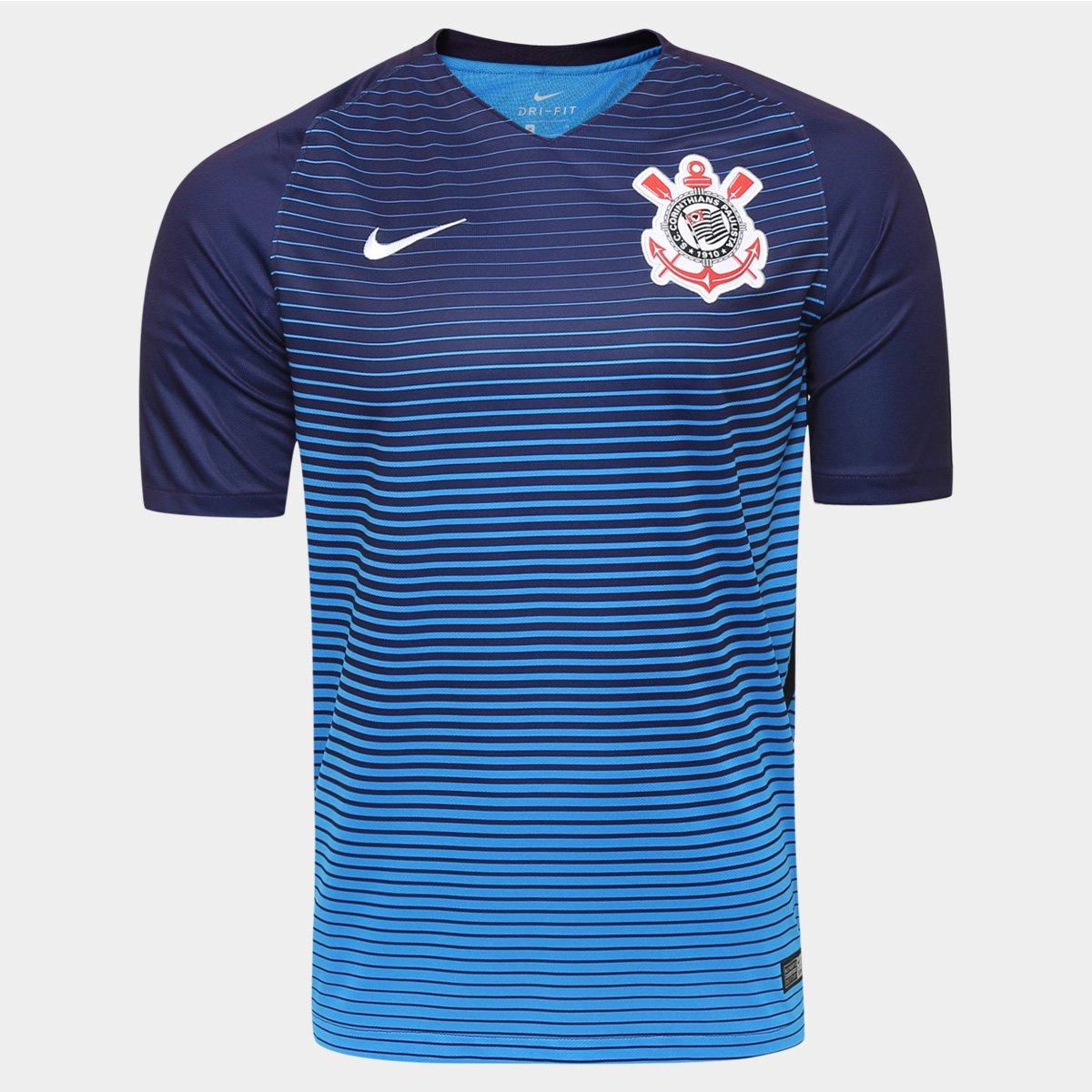 Camisa Corinthians III 2016 s nº Torcedor Nike Masculina - Compre ... 040b550390c4d