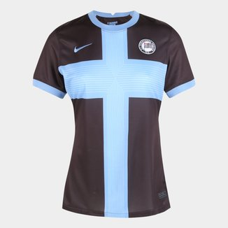 Camisa Corinthians III 20/21 s/n° Torcedor Nike Feminina