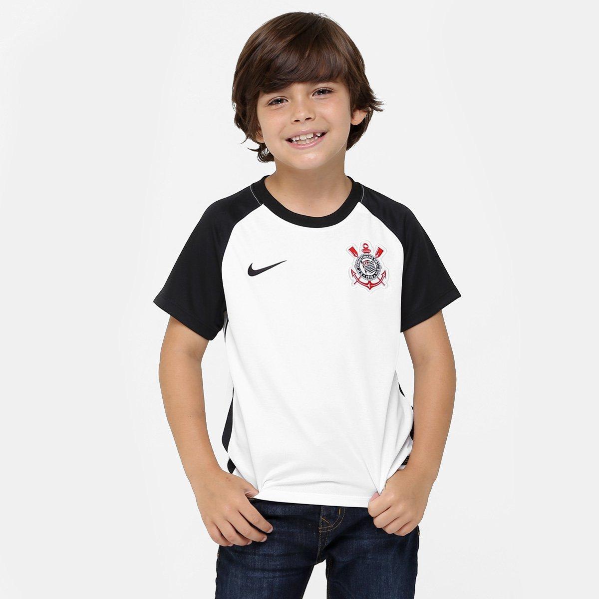 fd58a37785 Camisa Corinthians Infantil I 15 16 s nº - Torcedor Nike - Compre Agora