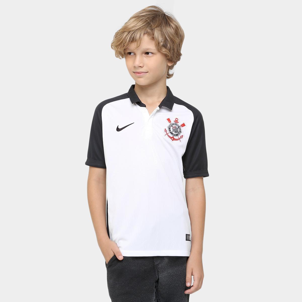0e22aa7b0f136 Camisa Corinthians Infantil I 2016 s nº - Torcedor Nike Masculina - Compre  Agora
