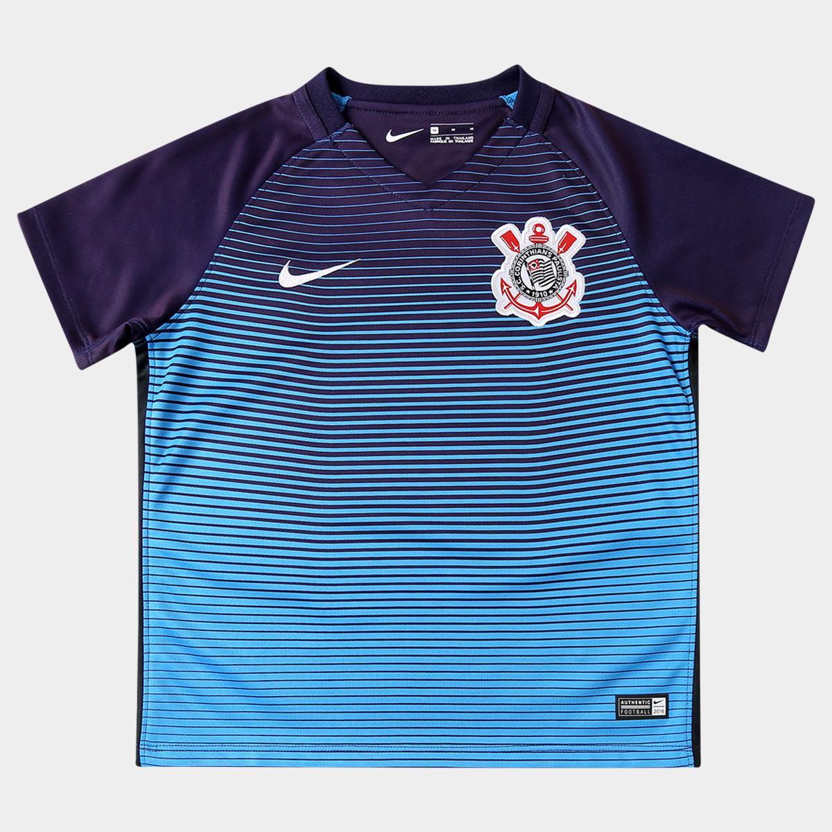 526e1298c9 Camisa Corinthians Infantil III 2016 s nº Torcedor Nike - Compre Agora