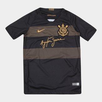 Camisa Corinthians Infantil III 2018 s/n° - Torcedor Nike