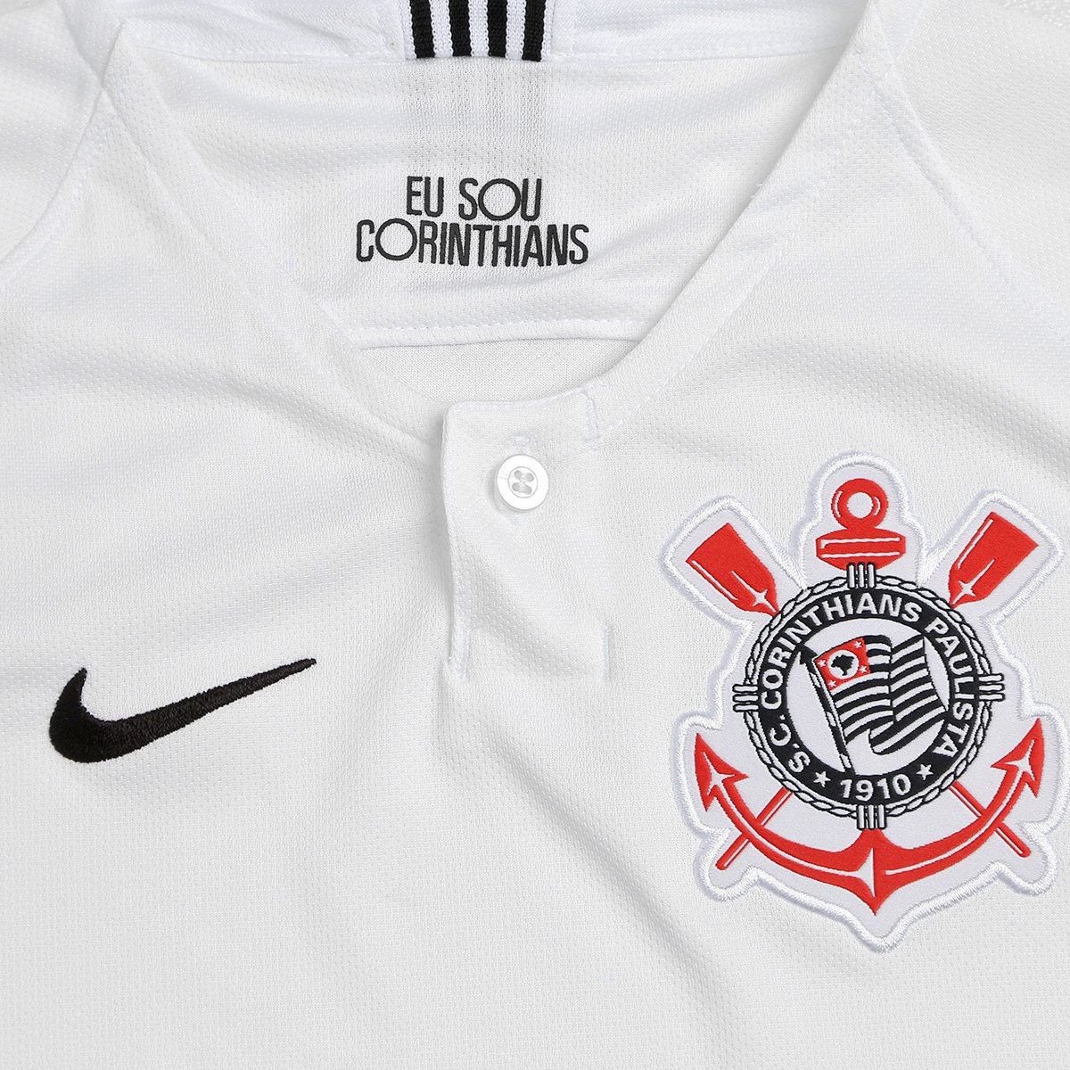 db5e67820b ... d564187a569 Camisa Corinthians Juvenil I 18 19 s n° - Torcedor Nike -  Compre .. 5fc885688e5 Jaqueta ...
