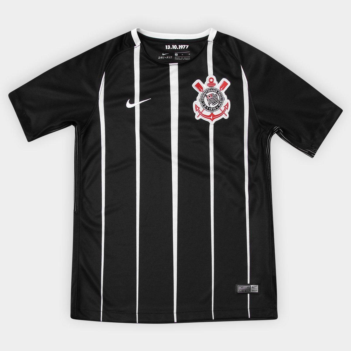 e36632495 Camisa Corinthians Juvenil II 17 18 s nº Torcedor Nike - Compre Agora