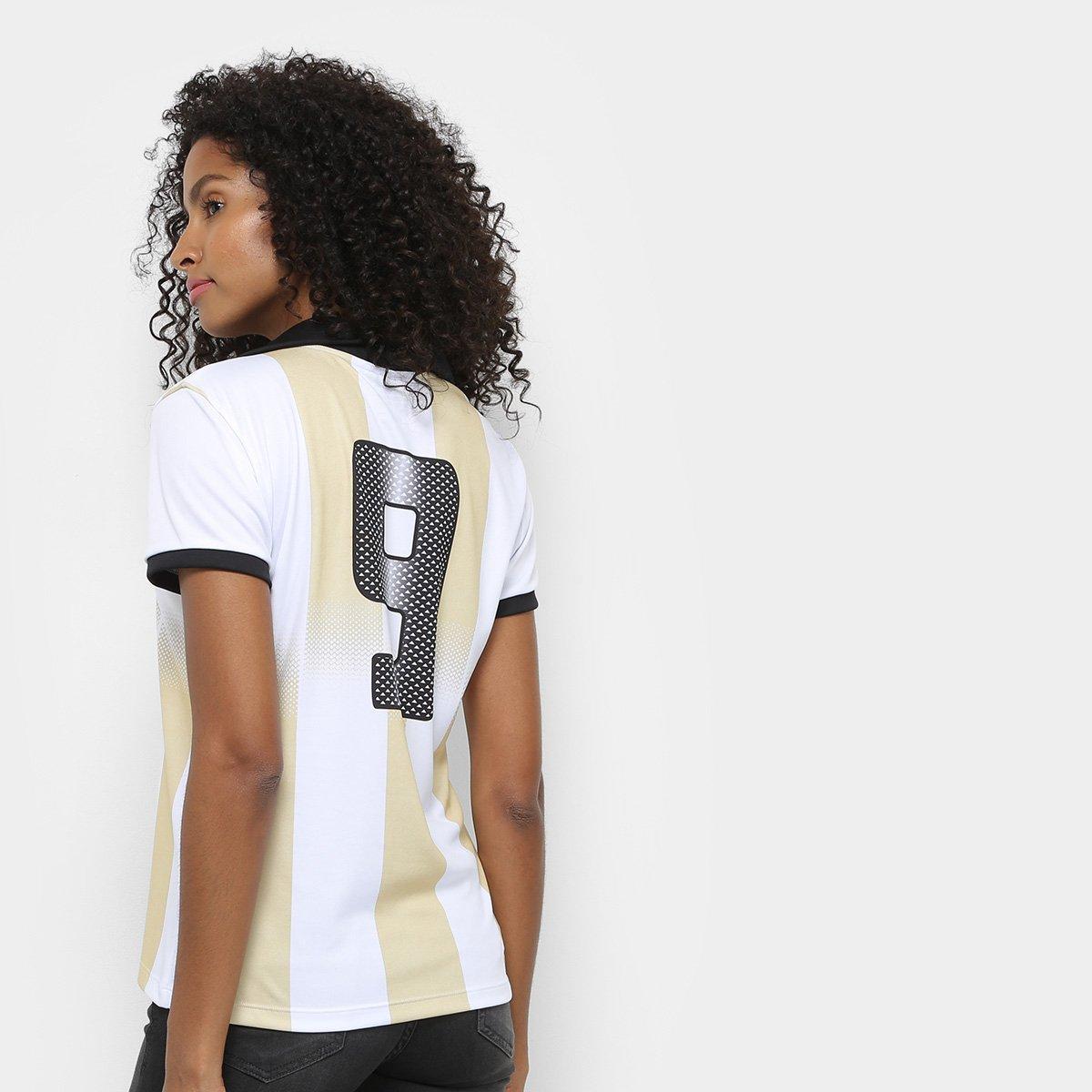 03d711f221 ... Camisa Corinthians n° 9 Centenário - Edição Limitada Feminina ...