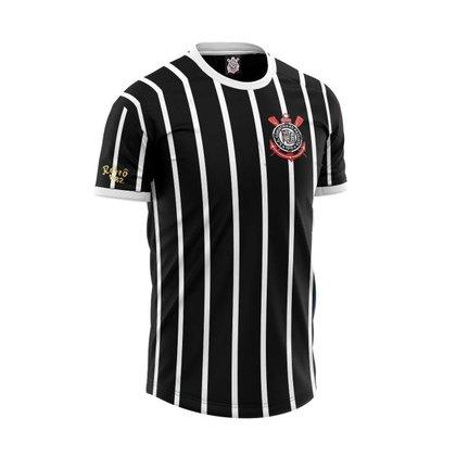 Camisa Corinthians Retrô 1982 Democracia Sócrates