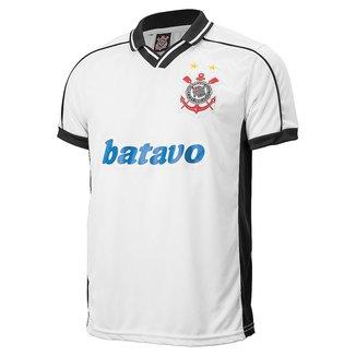 Camisa Corinthians Retrô Brasileiro 1999 Masculina