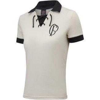 Camisa Corinthians Retrô CP 1910 Feminina
