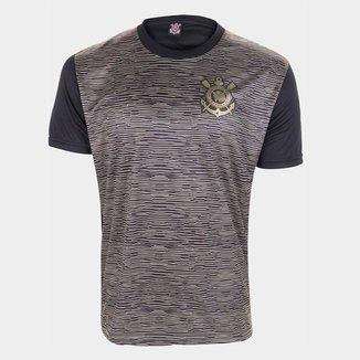 Camisa Corinthians Retrô Vintage Gold Oficial