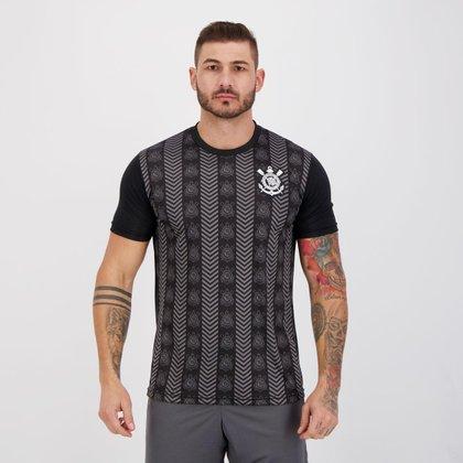 Camisa Corinthians Silver Preta