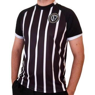 Camisa Corinthians Vintage Listrada Cp Oficial