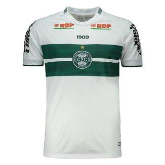 Camisa Coritiba 2021 Oficial Home Branca Sou 1909