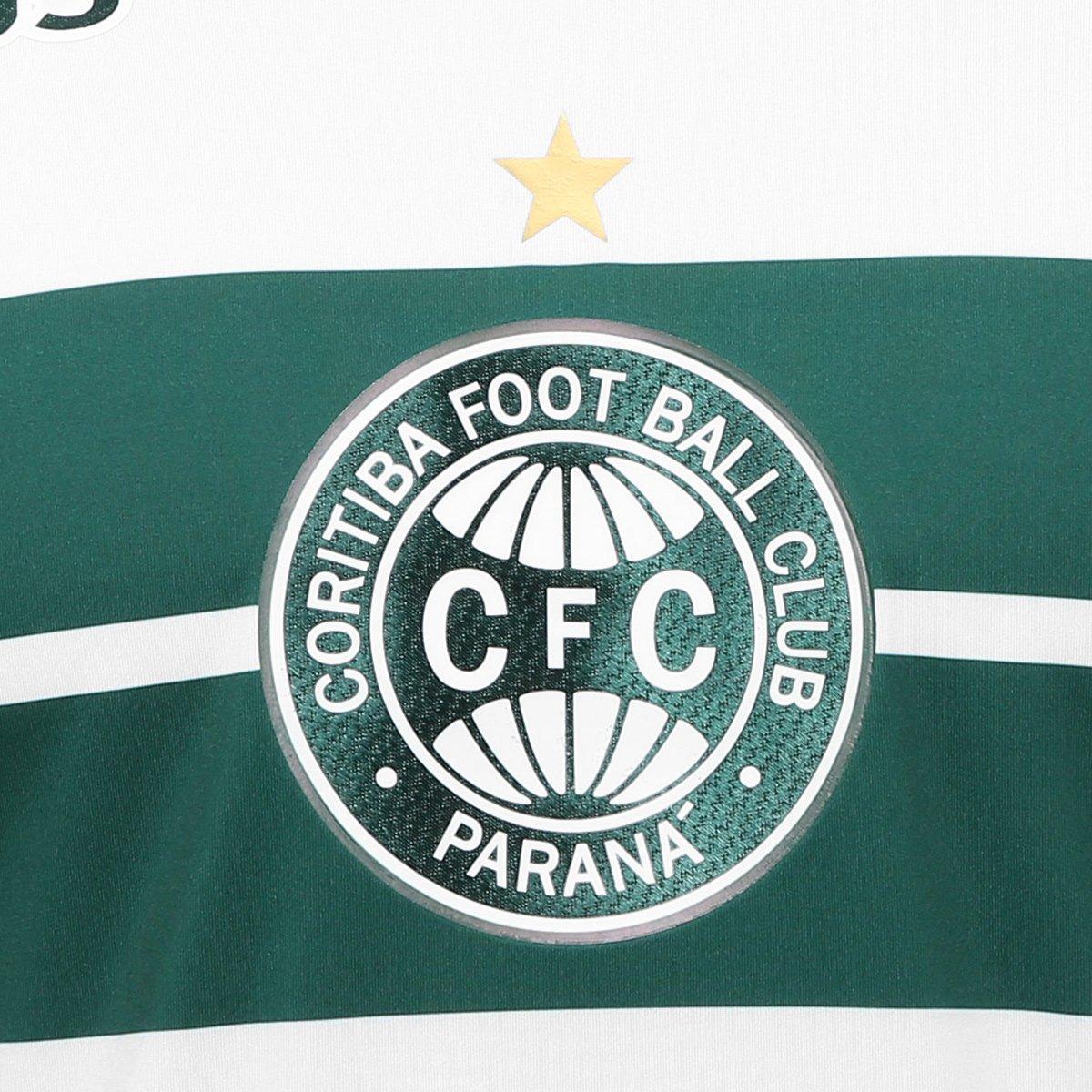 cdadeb1b06 ... Camisa Coritiba I 2018 s n° C Patrocínio - Jogador 1909 Masculina ...