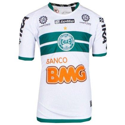 Camisa Coritiba Jogo I Lotto 2011 Juvenil