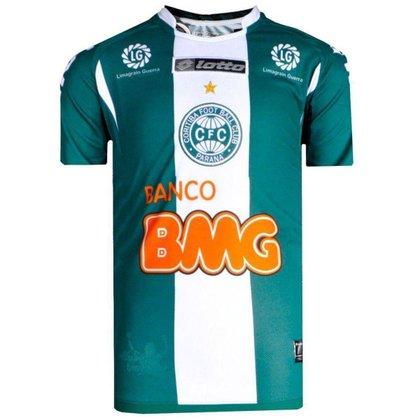 Camisa Coritiba Jogo II Lotto 2011 Juvenil