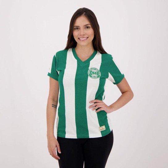 Camisa Coritiba Retrô 1985 Feminino - Verde