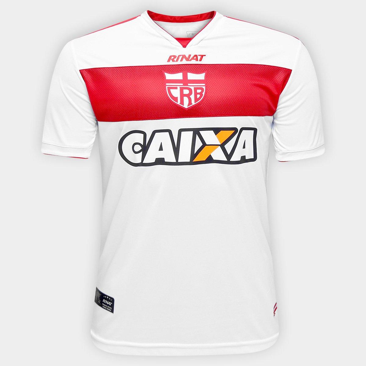 7242281939 Camisa CRB Alagoas I 17 18 s nº Torcedor Rinat Masculina - Compre Agora
